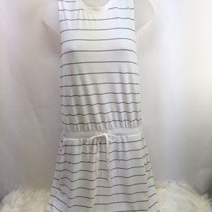 Lou & Grey NWOT sleeveless dress/drawstring waist